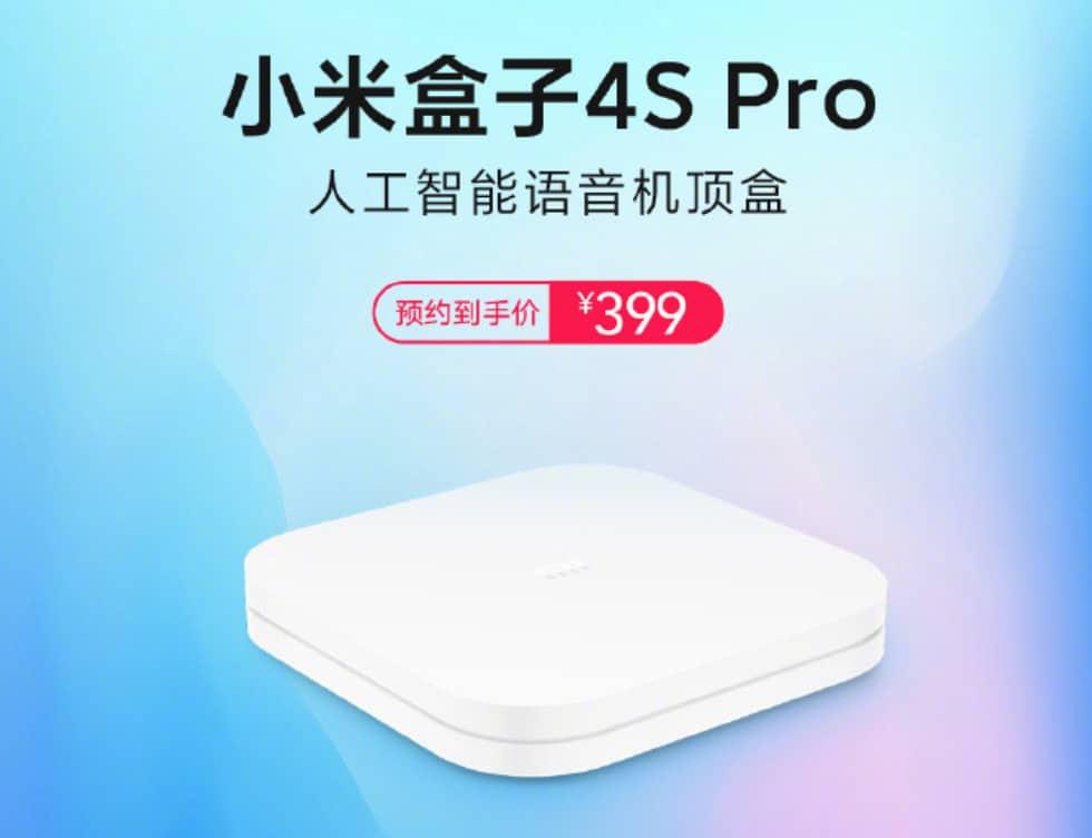 Xiaomi's 8K-capable Mi Box 4S Pro Launches In China