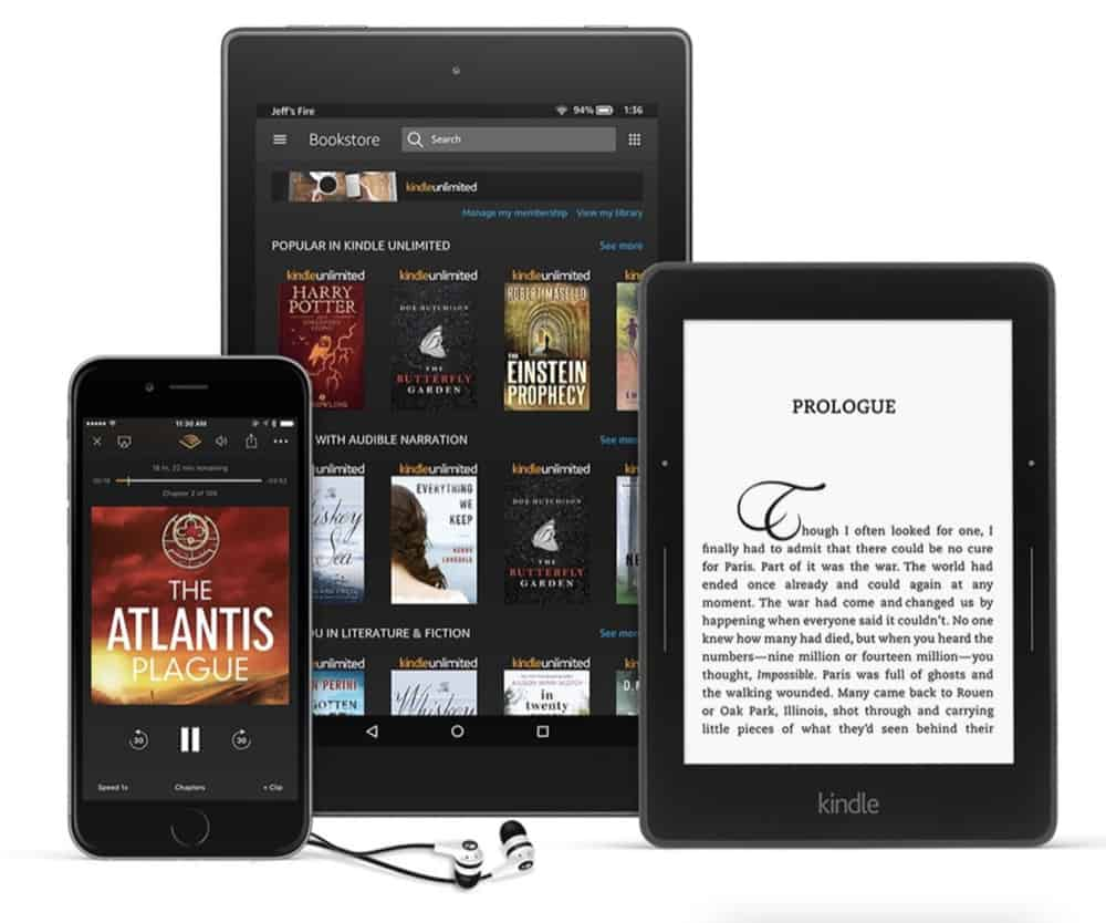 What Is Kindle Unlimited? A Look At Amazon's 'Netflix For Books'