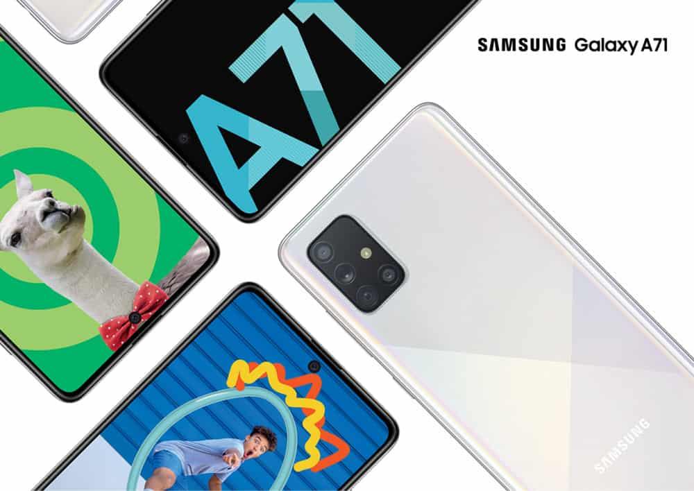 Samsung's Galaxy A71