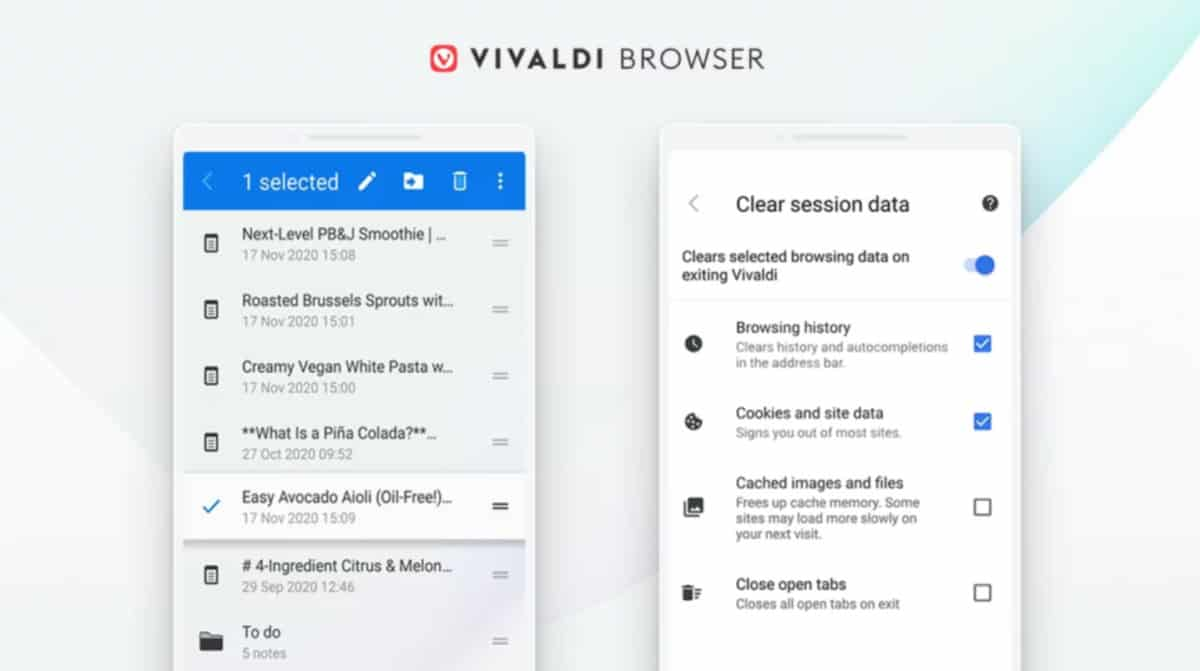 Vivaldi For Android