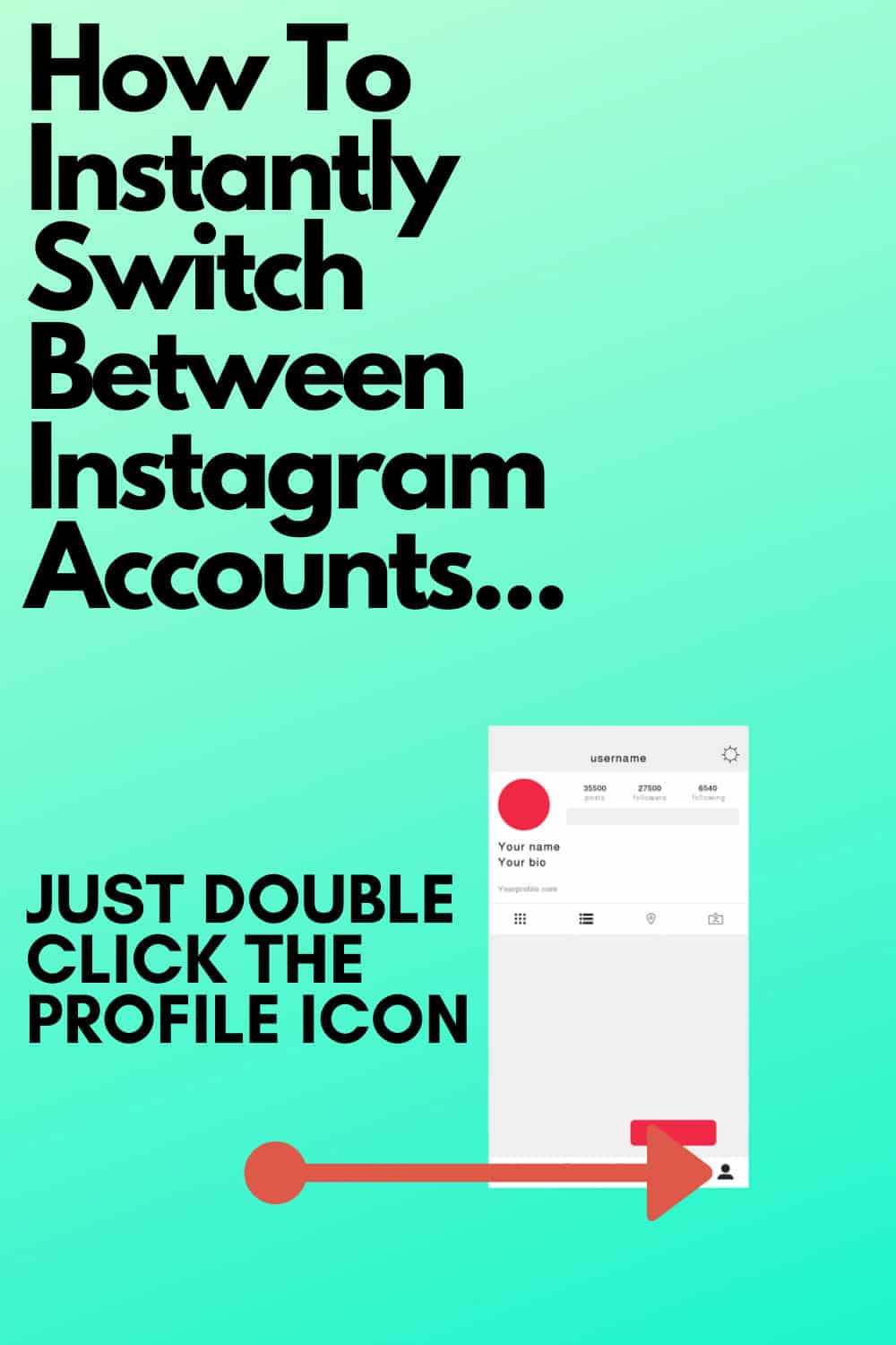 How To Instantly Switch Between Instagram Accounts