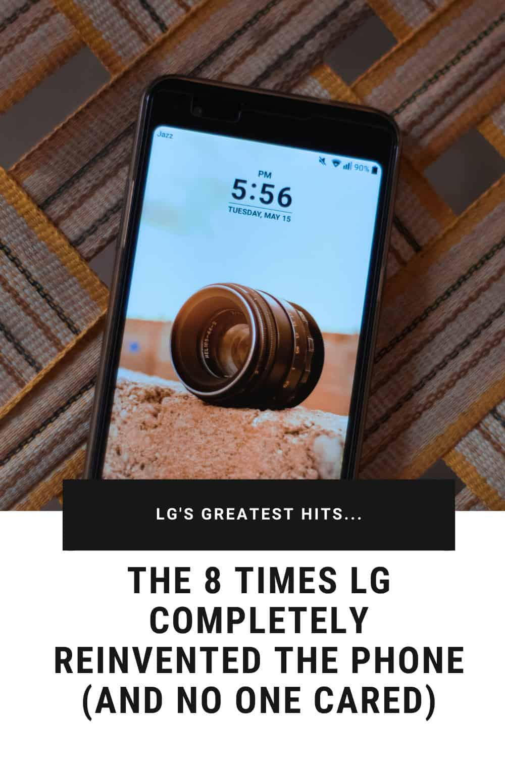 The History of LG Phones