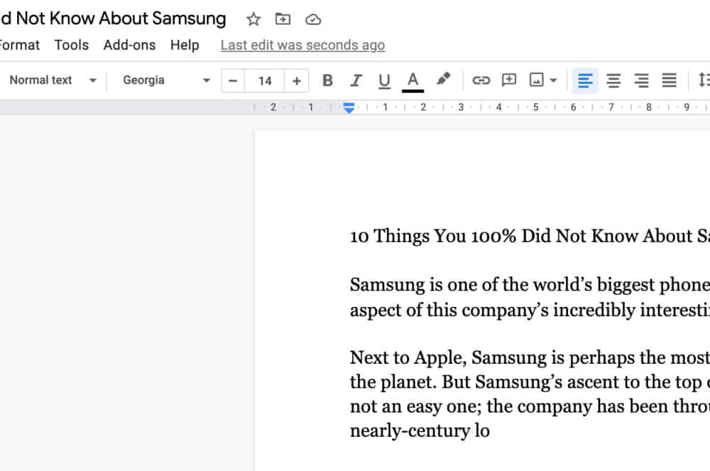 how to save in google docs