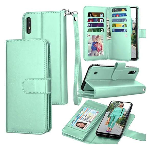 Galaxu A10 wallet case