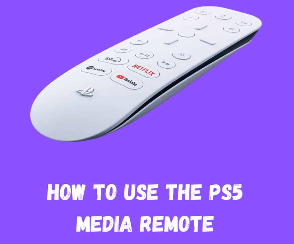 How To Use The PS5 Media Remote