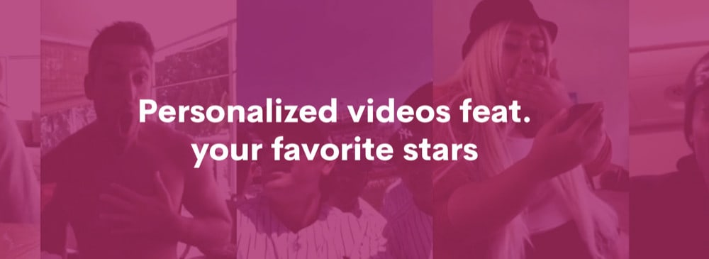 What Is Cameo? The Celebrity Personal Video Message Platform Is Here
