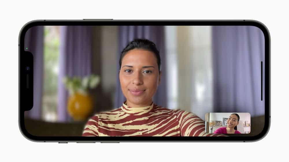 How To Blur FaceTime Call Backgrounds: Portrait Mode iOS 15