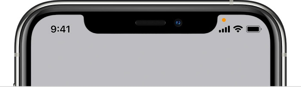 What Is The Orange Dot On My iPhone? iOS Microphone Indicator