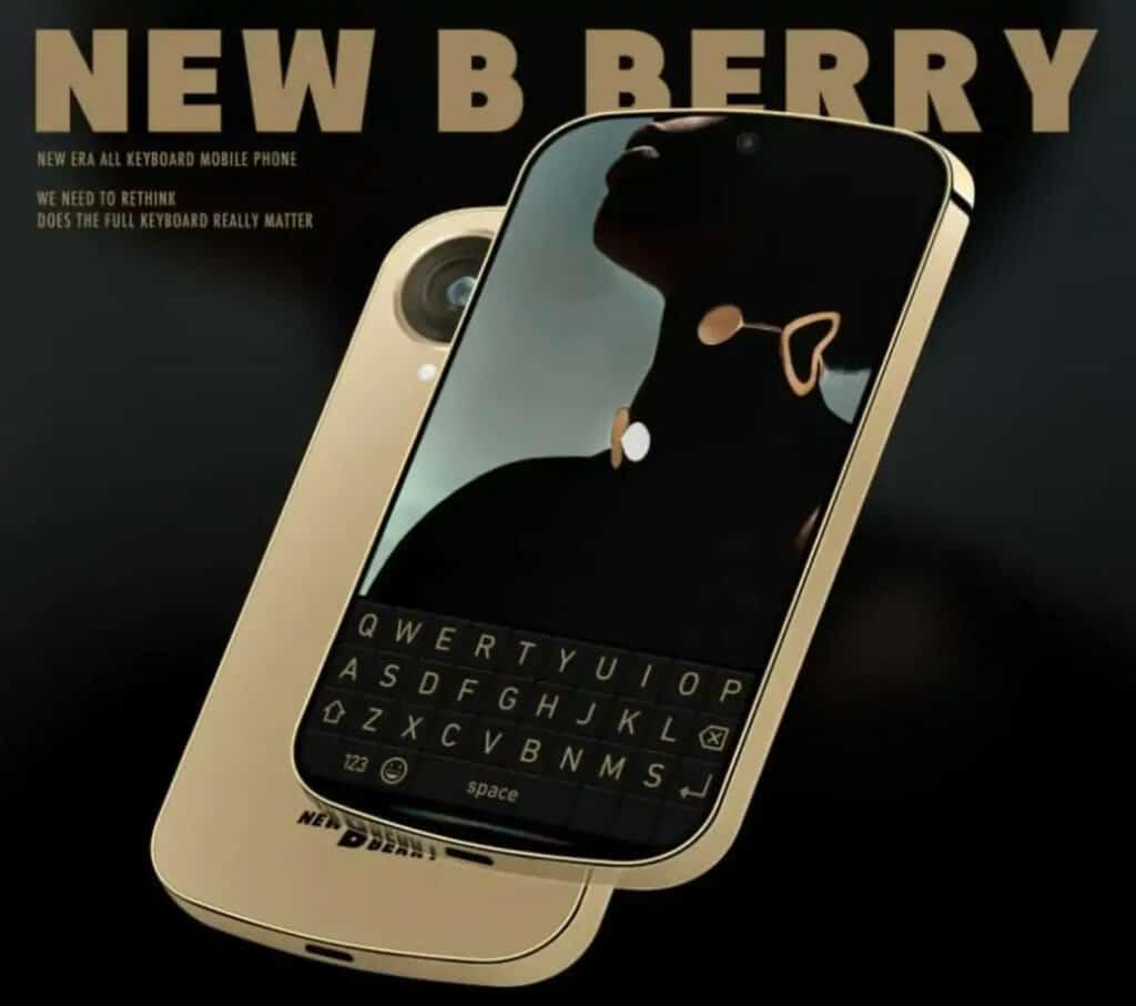 New BlackBerry Phone Concept Appears Online, Looks LEGIT…