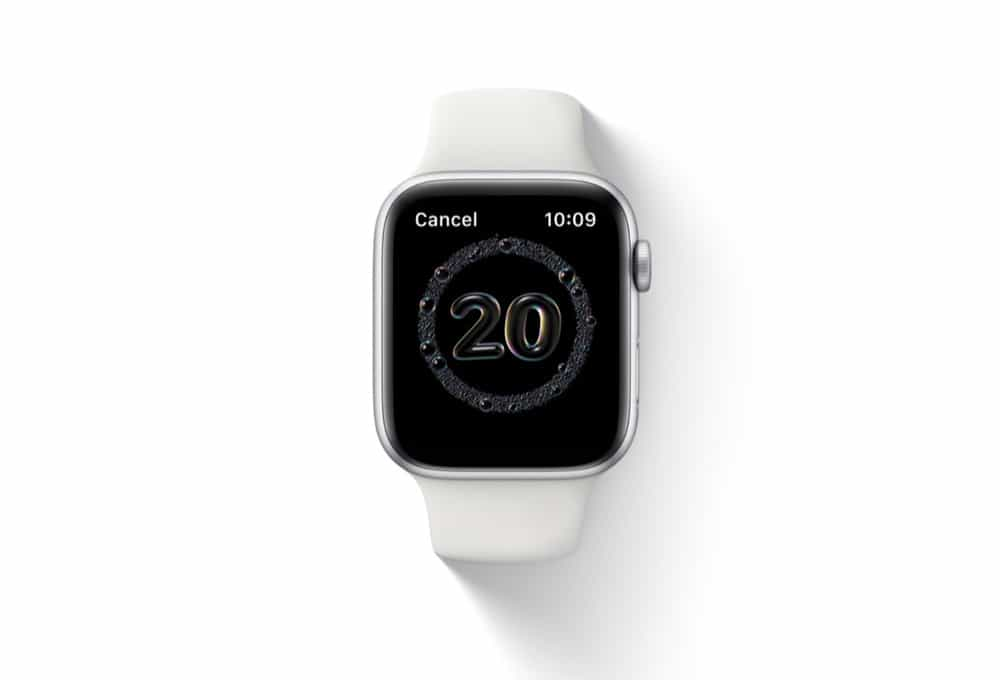 How To Use The Handwashing Feature on Apple Watch