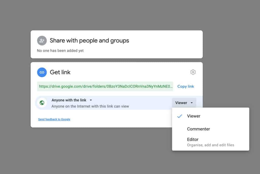 How To Share A Folder On Google Drive