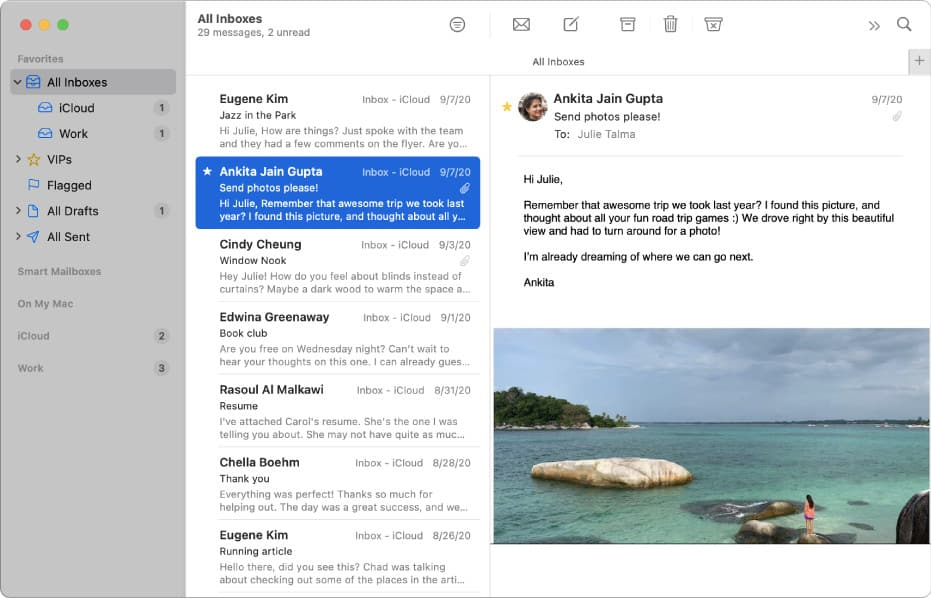 Apple's Mail App In Big Sur No Longer Sucks